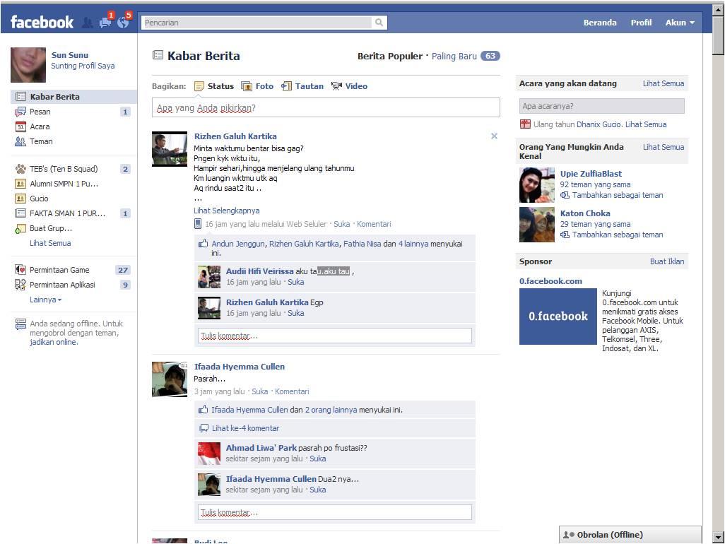 Facebook Beranda Indonesia
