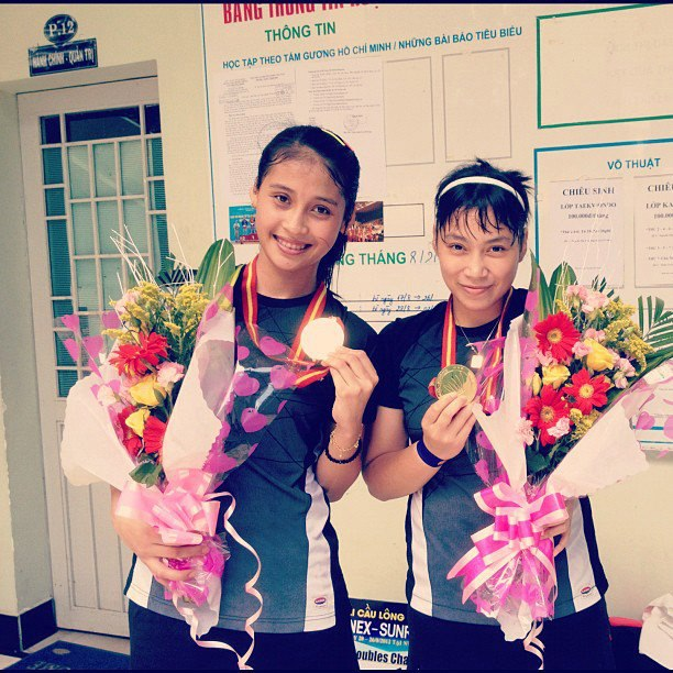 284824 365822483488221 953251535 n Rizky Amelia Pradipta: Putri Ayu Atlet Bulu Tangkis Indonesia