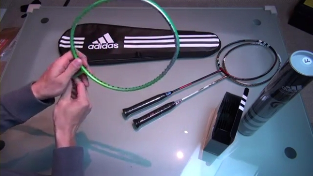 2013 Adidas Badminton pre-release samples unboxing.mp4_000484525
