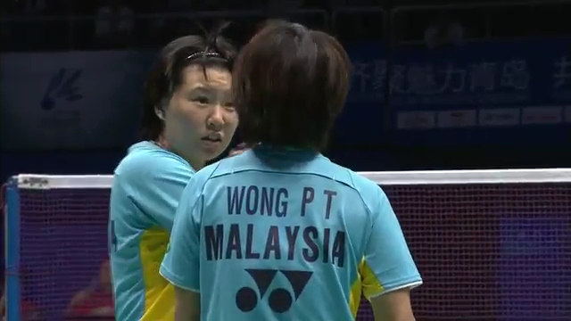 Sudirman Cup 2011 Indonesia vs Malaysia 005 Mixed Double Singal of SNG 720p.mp4_002826640