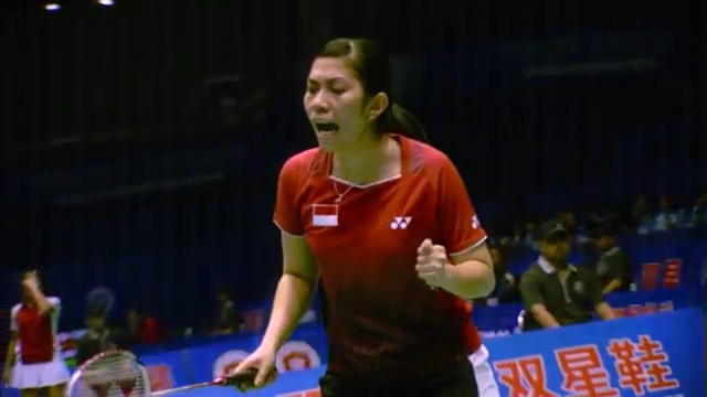 Sudirman Cup 2011 Indonesia vs Malaysia 005 Mixed Double Singal of SNG 720p.mp4_003086200