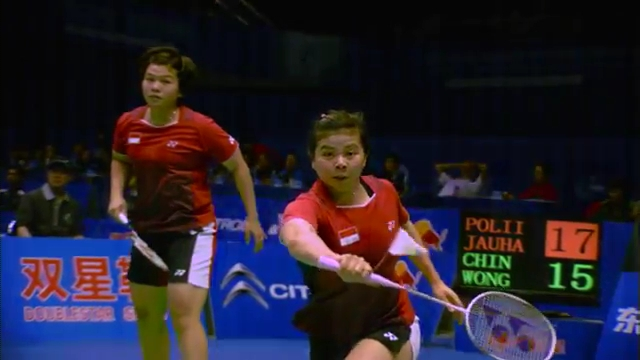 Sudirman Cup 2011 Indonesia vs Malaysia 005 Mixed Double Singal of SNG 720p.mp4_003148480