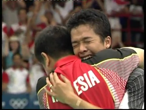 ♛ 2004 Olympics MS Final 720HD Taufik HIDAYAT [INA] vs [KOR] SHON Seung Mo.mp4_002926040