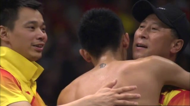 Badminton Men's Singles Medal Matches - Malaysia China Full Replay -- London 2012 Olympic Games.mp4_005319320