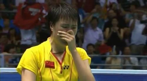 2008 Bronze Medal - Women Single Olympic - Maria K Yulianti vs Lu Lan.mp4_004154520