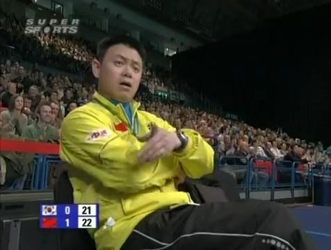 all england open 2009 Sung Hyun KO Jung Eun HA vs Bo ZHENG Jin MA All England Open 2009 Semi Final1.mp4_003016960