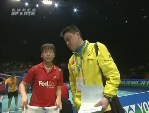 all england open 2009 Sung Hyun KO Jung Eun HA vs Bo ZHENG Jin MA All England Open 2009 Semi Final1.mp4_003140960
