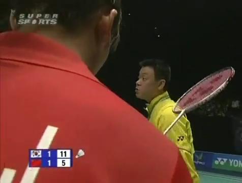 all england open 2009 Sung Hyun KO Jung Eun HA vs Bo ZHENG Jin MA All England Open 2009 Semi Final1.mp4_003688680