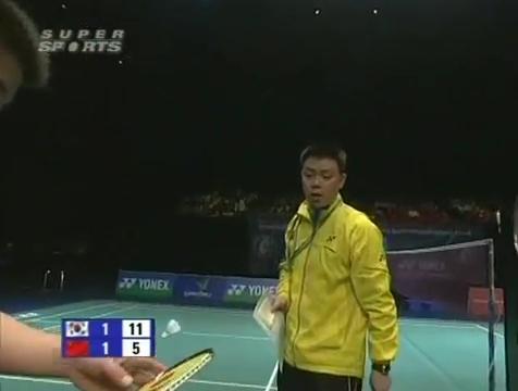 all england open 2009 Sung Hyun KO Jung Eun HA vs Bo ZHENG Jin MA All England Open 2009 Semi Final1.mp4_003690960