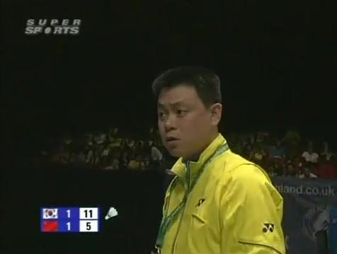 all england open 2009 Sung Hyun KO Jung Eun HA vs Bo ZHENG Jin MA All England Open 2009 Semi Final1.mp4_003692640