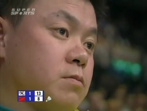 all england open 2009 Sung Hyun KO Jung Eun HA vs Bo ZHENG Jin MA All England Open 2009 Semi Final1.mp4_003817720