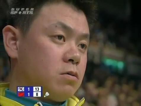 all england open 2009 Sung Hyun KO Jung Eun HA vs Bo ZHENG Jin MA All England Open 2009 Semi Final1.mp4_003820240