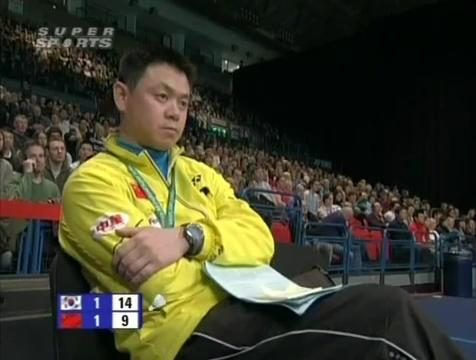 all england open 2009 Sung Hyun KO Jung Eun HA vs Bo ZHENG Jin MA All England Open 2009 Semi Final1.mp4_003880680