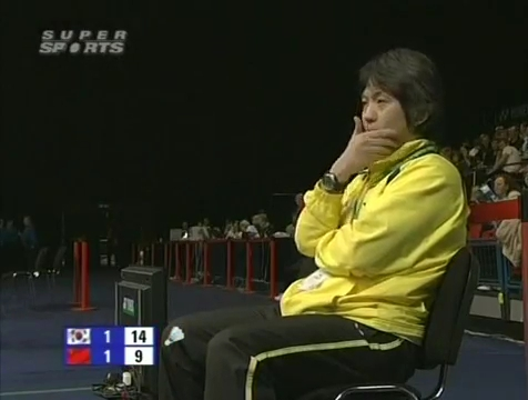 all england open 2009 Sung Hyun KO Jung Eun HA vs Bo ZHENG Jin MA All England Open 2009 Semi Final1.mp4_003886320
