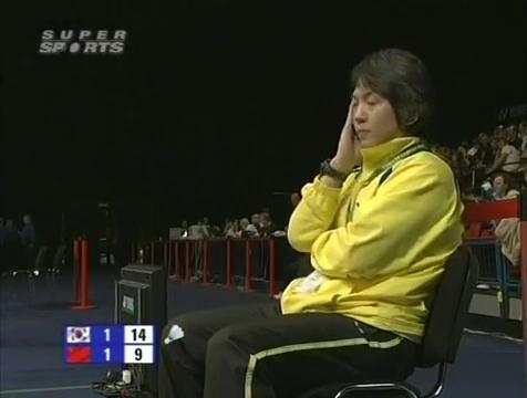 all england open 2009 Sung Hyun KO Jung Eun HA vs Bo ZHENG Jin MA All England Open 2009 Semi Final1.mp4_003886640