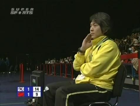 all england open 2009 Sung Hyun KO Jung Eun HA vs Bo ZHENG Jin MA All England Open 2009 Semi Final1.mp4_003886800