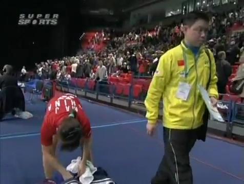 all england open 2009 Sung Hyun KO Jung Eun HA vs Bo ZHENG Jin MA All England Open 2009 Semi Final1.mp4_004182920