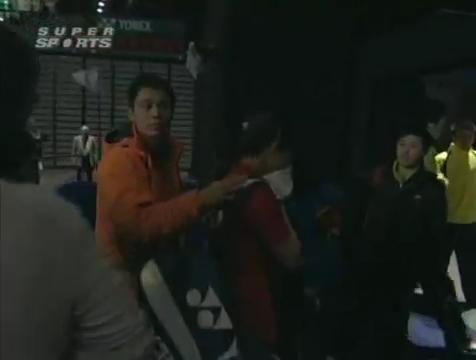 all england open 2009 Sung Hyun KO Jung Eun HA vs Bo ZHENG Jin MA All England Open 2009 Semi Final1.mp4_004228760