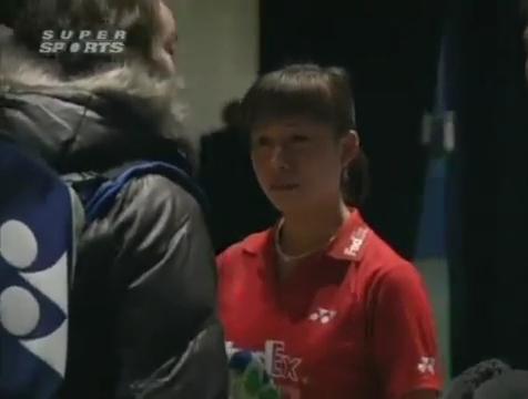 all england open 2009 Sung Hyun KO Jung Eun HA vs Bo ZHENG Jin MA All England Open 2009 Semi Final1.mp4_004247800