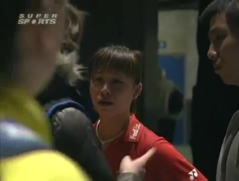 all england open 2009 Sung Hyun KO Jung Eun HA vs Bo ZHENG Jin MA All England Open 2009 Semi Final1.mp4_004250040