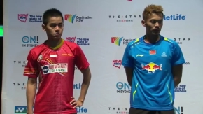 Final - 2014 Australian Badminton Open - Lin Dan vs Simon Santoso.mp4_005180120