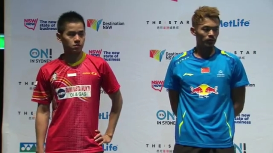 Final - 2014 Australian Badminton Open - Lin Dan vs Simon Santoso.mp4_005180120