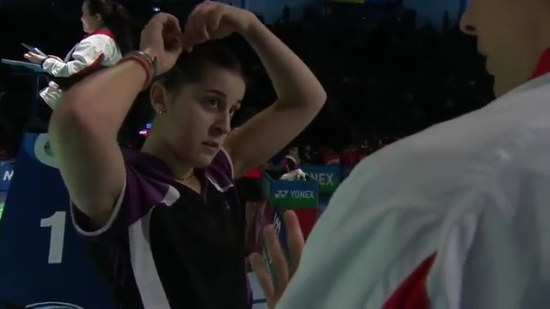 QF - 2014 Australian Badminton Open - Carolina Marin vs Shindu PV.mp4_002575160