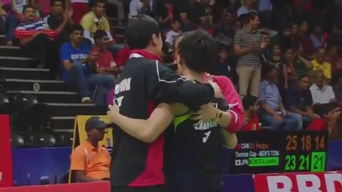 THOMAS AND UBER CUP FINALS 2014 Session 15, Match 3.mp4_005325680